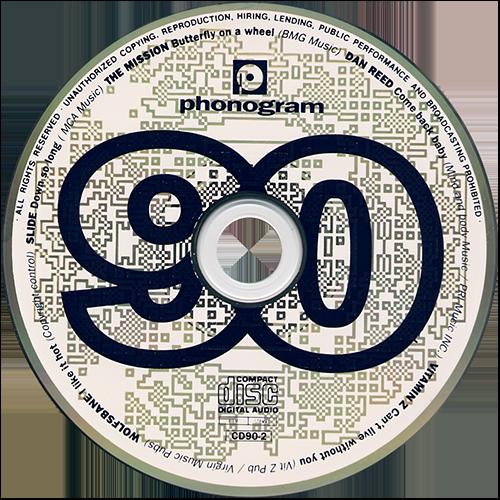 nineteen ninety Promo CD Dan Reed Network