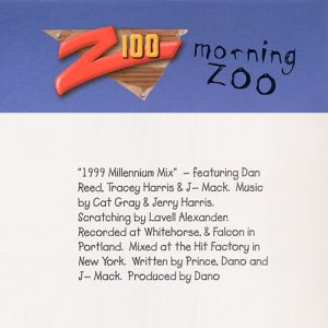 Dan Reed - 1999 Millennium Mix - Z100 Morning Zoo