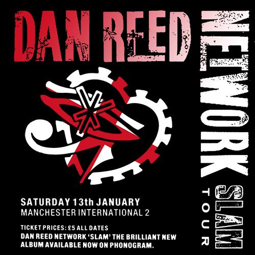 Dan Reed Network Manchester International II January 13 1990