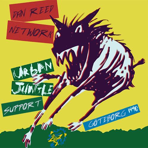 Dan Reed Network Gothenburg 1990 Urban Jungle Support Tour