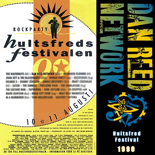 Dan Reed Network Hultsfred Festival Sweden 1990