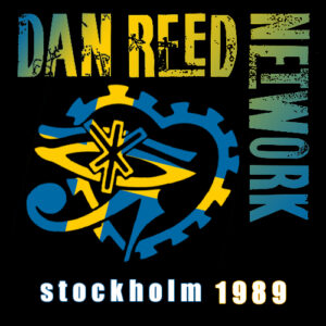 Dan Reed Network Bon Jovi Support Tour Stockholm Sweden 1989