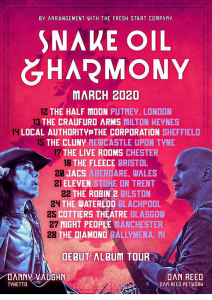 Snake Oil & Harmony 2020 Tour