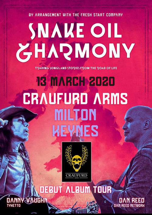 Snake Oil & Harmony Milton Keynes