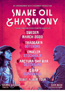 Snake Oil & Harmony Sweden Tour 2020