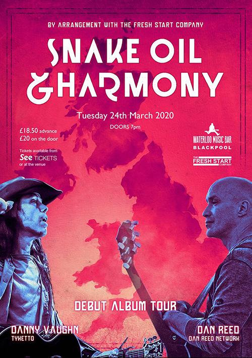 Snake Oil & Harmony Blackpool The Waterloo