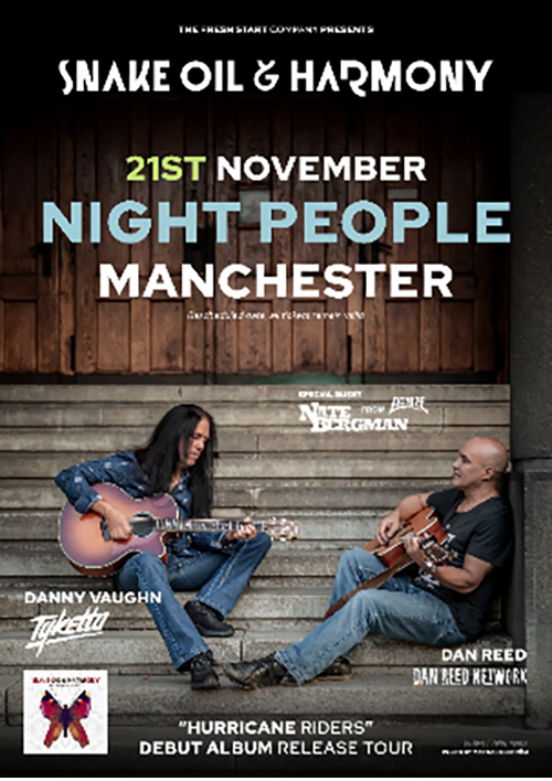 Snake Oil & Harmony Night People Manchester 2020
