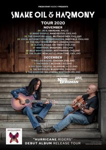 Snake Oil & Harmony UK Tour 2020