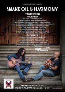 Snake Oil & Harmony UK Tour 2020