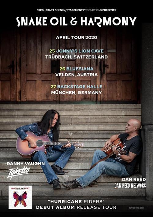 Snake, Oil & Harmony Tour Europe 2020