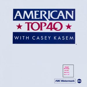 American Top 40 With Casey Kasem Dan Reed Network 1988
