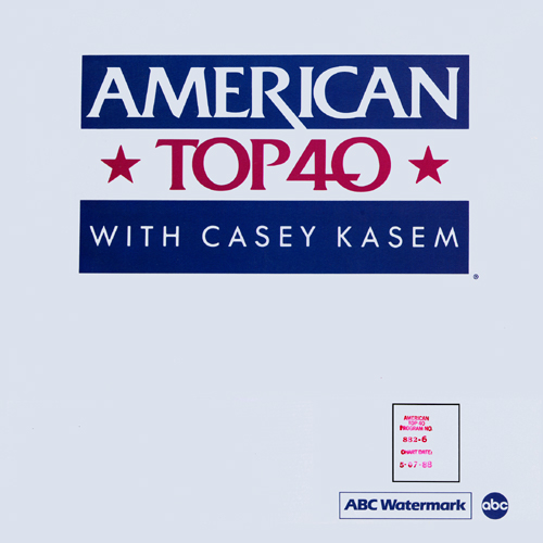 American Top 40 With Casey Kasem Dan Reed Network 1988