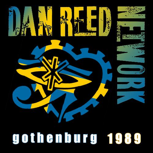 Dan Reed Network Bon Jovi Support Tour Stockholm Sweden 1989
