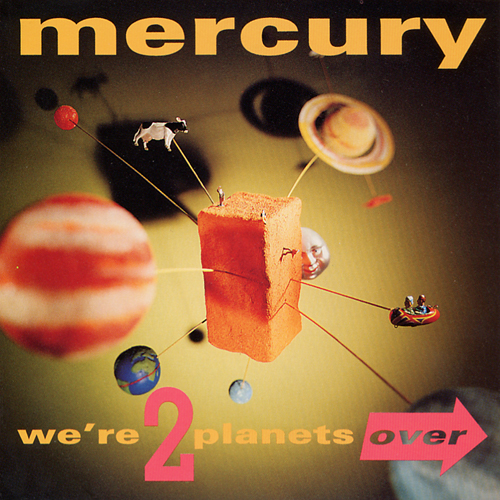 Mercury We're 2 Planets Over Promo CD Dan Reed Network