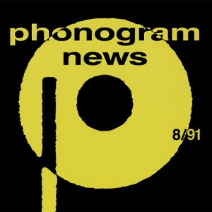 Phonogram News Promo CD 891 Dan Reed Network