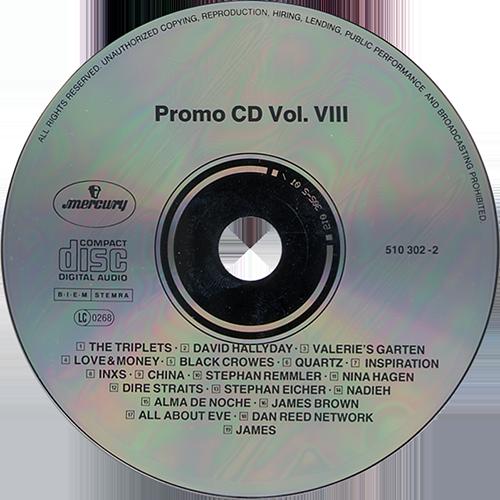 Phonogram News Promo CD 891 Dan Reed Network