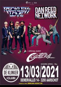 Dan Reed Network Tour - Belgium 2021