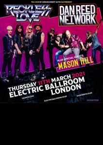 Dan Reed Network UK Tour 2021 London