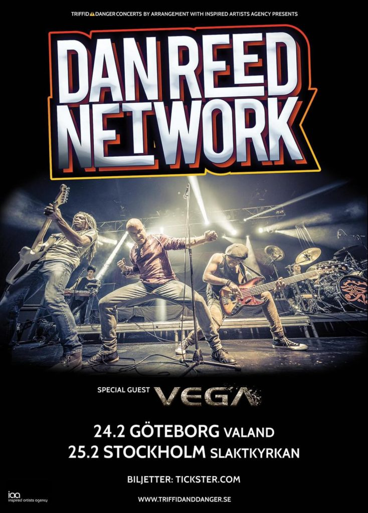 Dan Reed Network Sweden Göteborg Stockholm 2021
