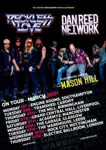 Dan Reed Network UK Tour 2021