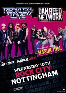Dan Reed Network UK Tour 2021 Nottingham